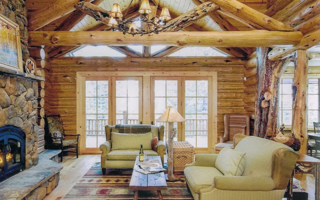 """The Summit"" Luxury Log Home"