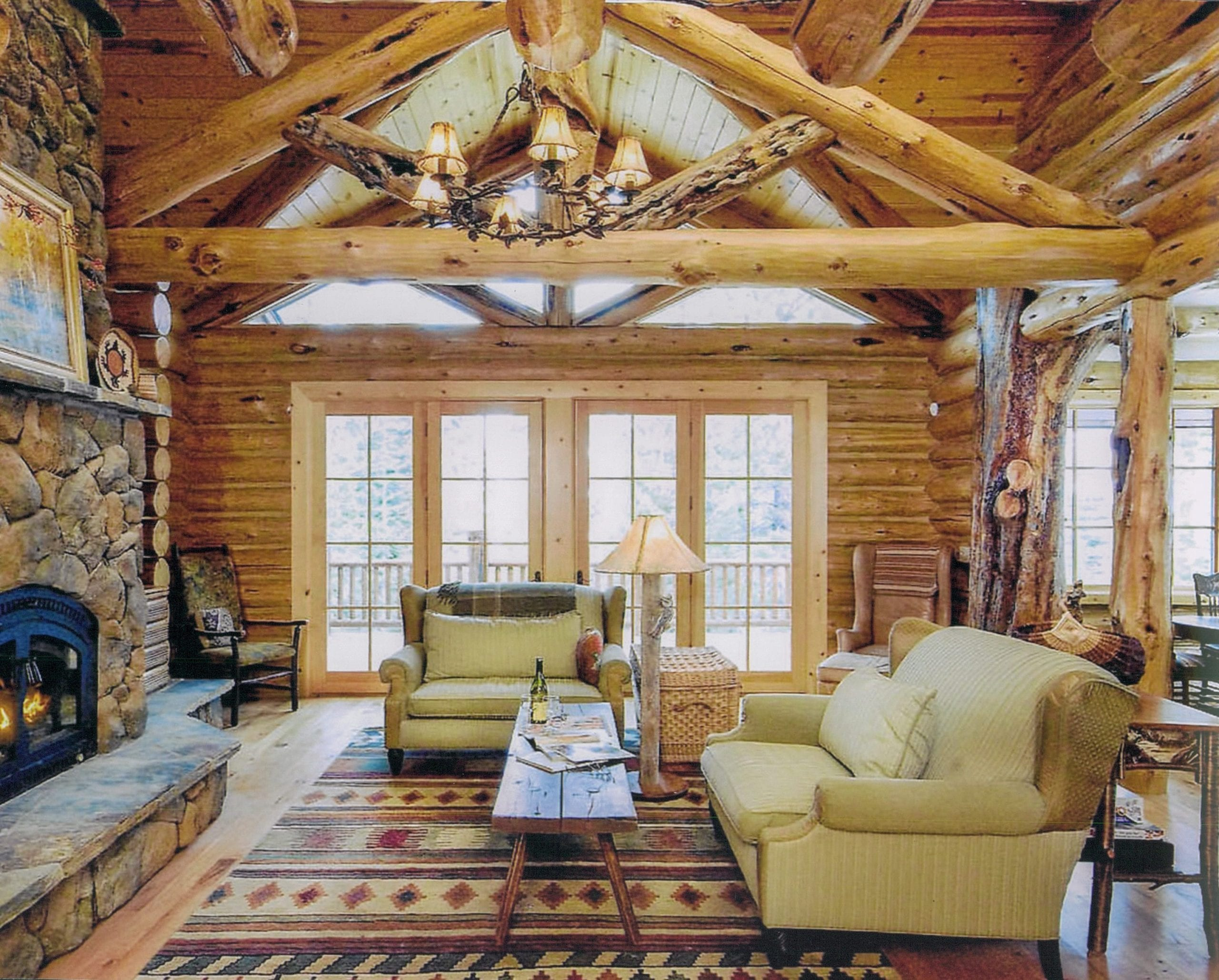 The Summit Luxury Log Home