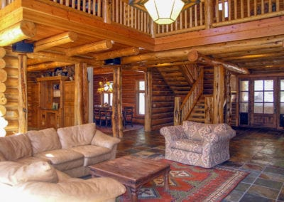 """The Tahoe"" Luxury Log Home"